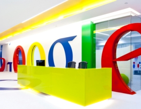 Interior design firm completes phase one of Google's new London office